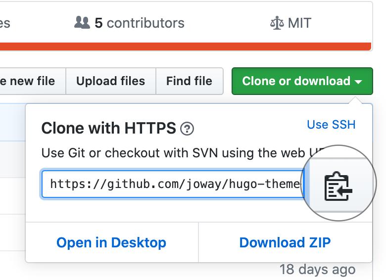 Github Copy URL